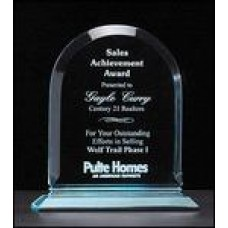 Arch Series Acrylic Award - In Jade